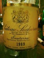 Ch Suduiraut 89