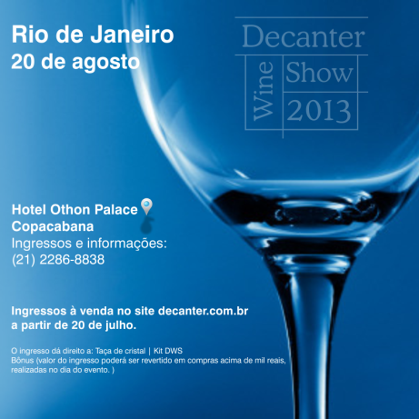 Decanter Wine Show 2013